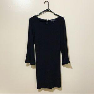 Laundry By Shelli Segal Long Sleeve Flounce Dress
